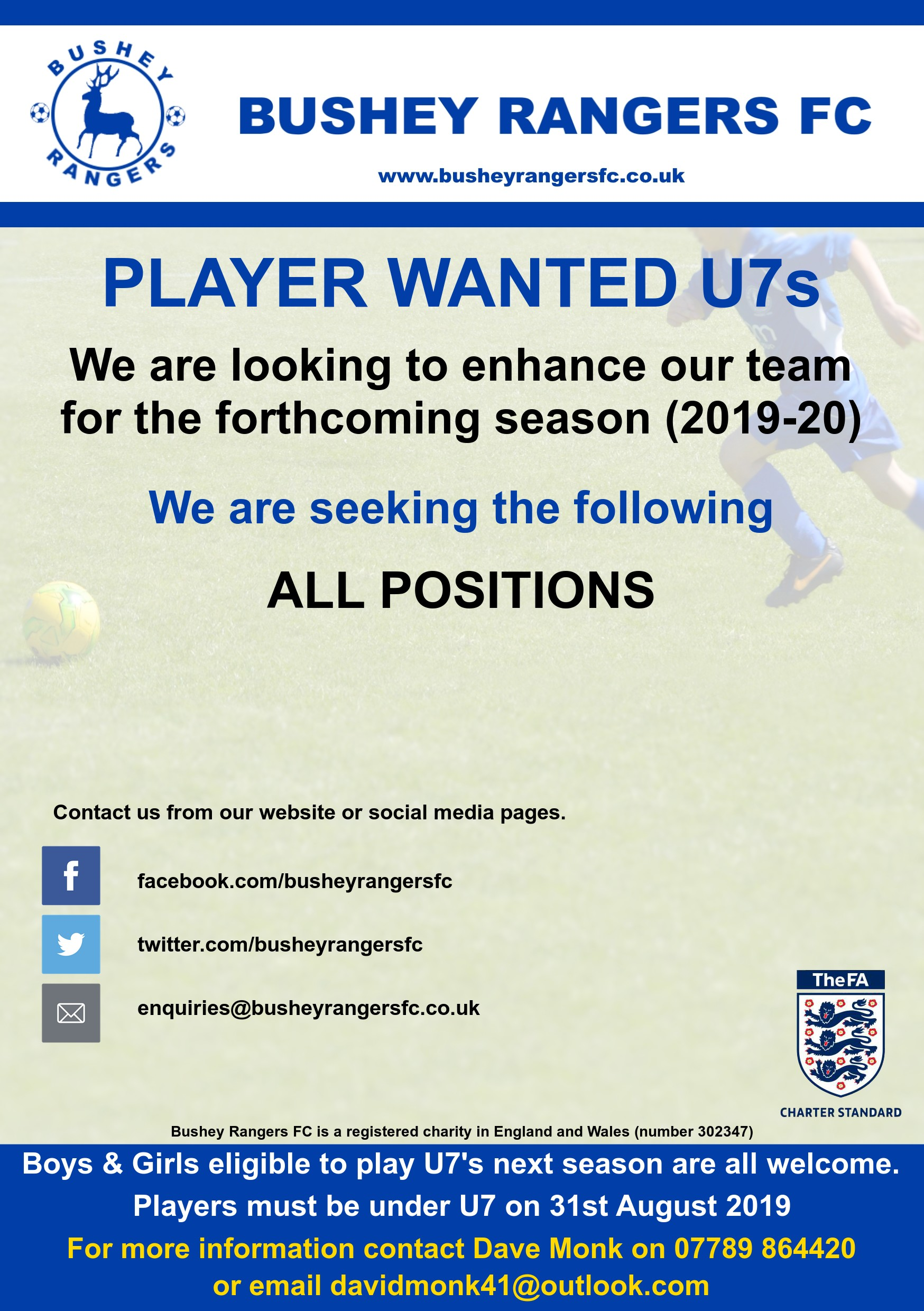 Player Wanted